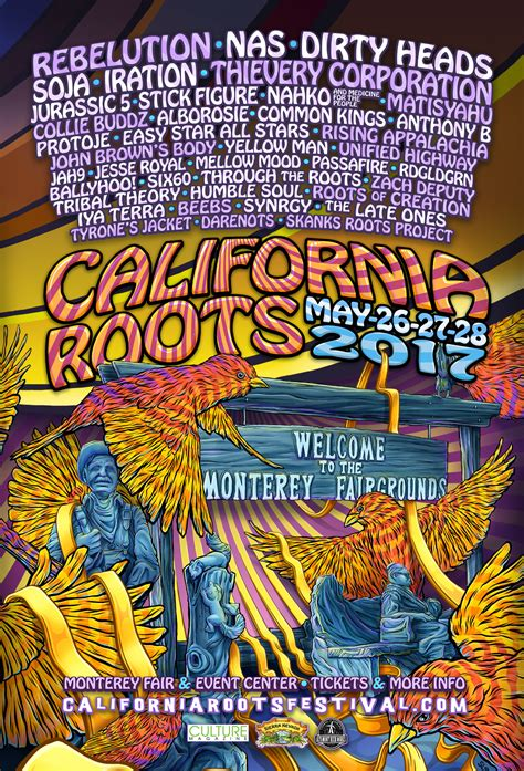 California Roots Music and Art Festival 2017 YouTube Stream