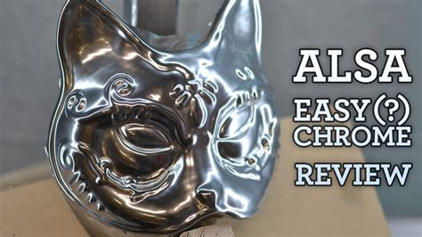 How to Get a Shiny Chrome Finish on Armor and Props