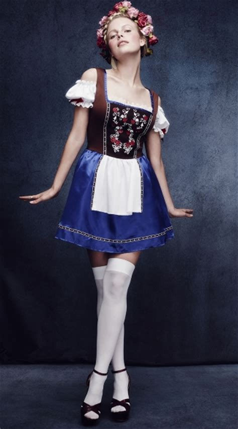 Sexy Dirndl Beer Girl Costume, Sexy German Costume, Sexy