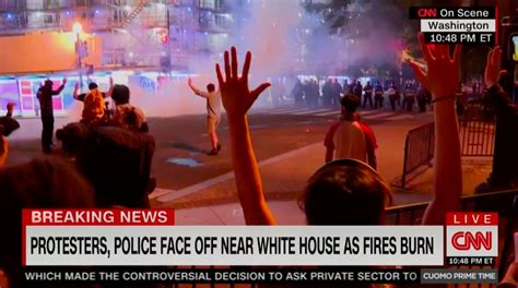 CNN Protest Coverage Scores Massive Weekend Demo Ratings Wins