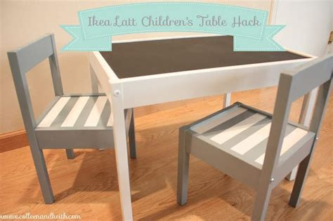 Country-Modern Baby Alert! A Gray and White Striped LÄTT