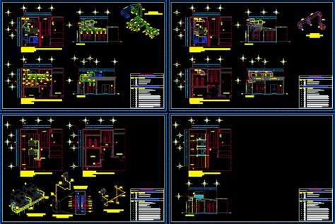 Air conditioning - details in AutoCAD | CAD (700
