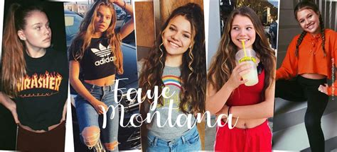 Faye Montana multi talent! The youngest German youtube