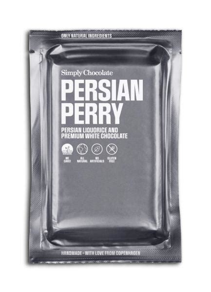 Köp Simply Chocolate Persian Perry 80g hos Coopers Candy