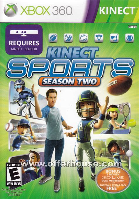 Kinect Sports 2 - XBOX 360 - Jeux Torrents