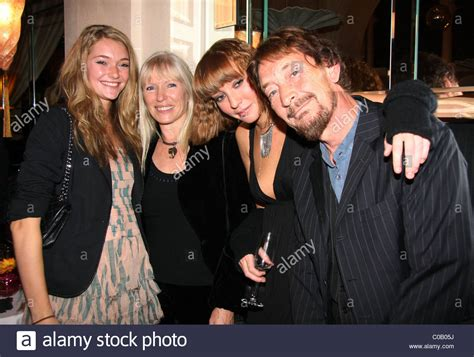 Chris Rea and family Launch party for Michael Winner's new
