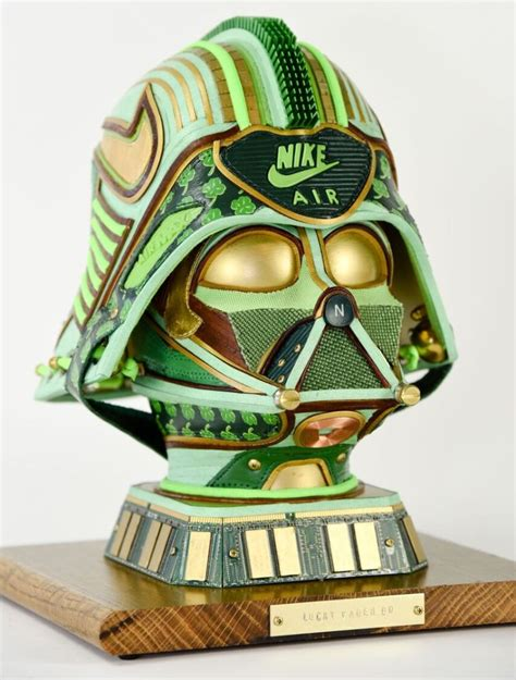 These Star Wars Sculptures by Gabriel Dishaw are Outfitted