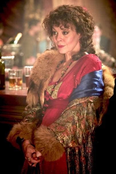 Helen McCrory Peaky Blinders Interview Pictures   British
