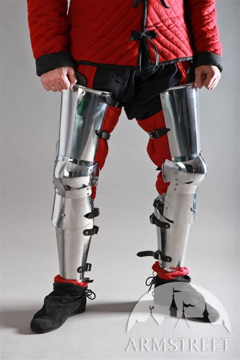 Medieval Leg Legs and Full Round Greaves Set for sale