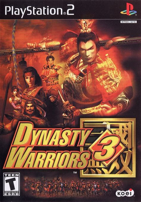 Dynasty Warriors 3 for PlayStation 2 (2001) - MobyGames