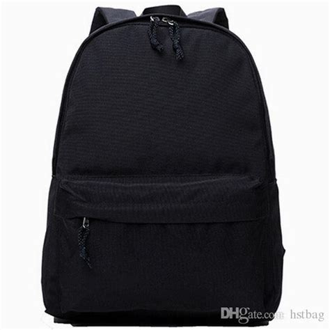 Black And Other Color Daypack MUJI Brand Packsack Plain